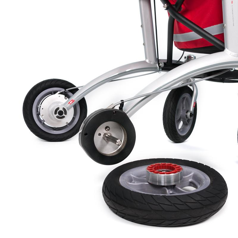 Detachable wheels